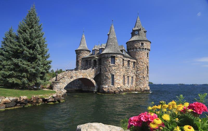 Castillo de Boldt, mil islas imagen de archivo