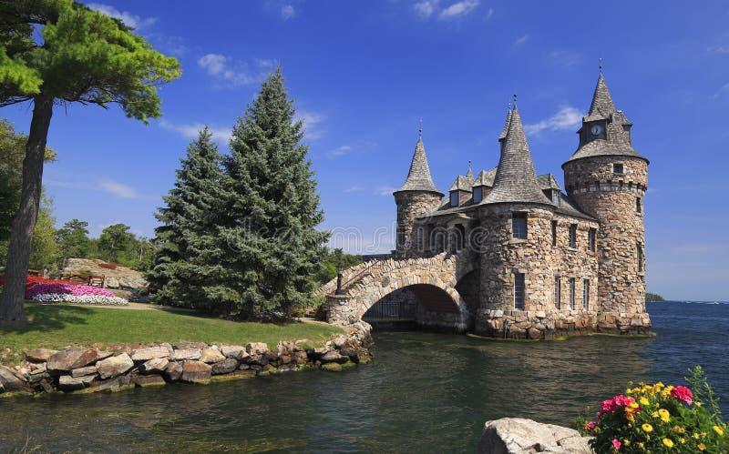 Castillo de Boldt, mil islas imagen de archivo libre de regalías