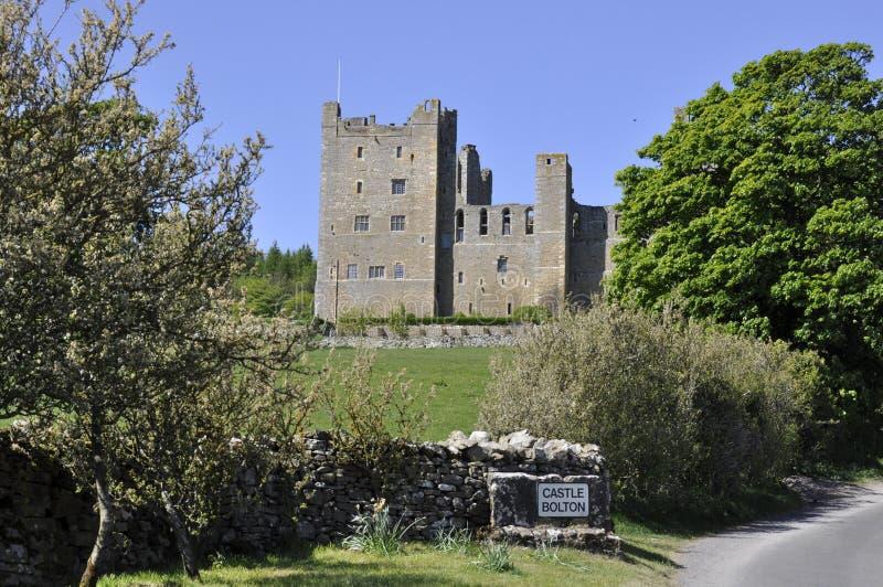 Castillo de Bolton fotografía de archivo libre de regalías