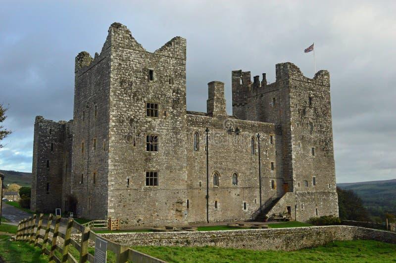 Castillo de Bolton en Wensleydale Yorkshire imagen de archivo