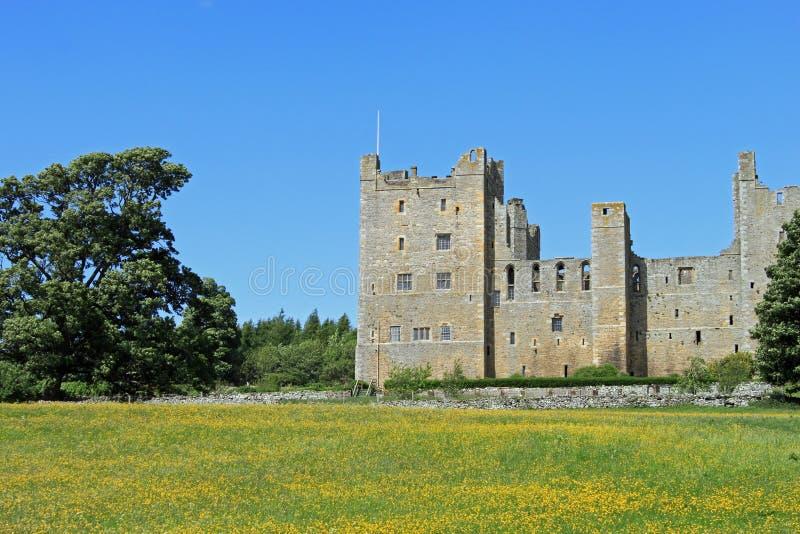 Castillo de Bolton, Wesleydale. fotos de archivo libres de regalías