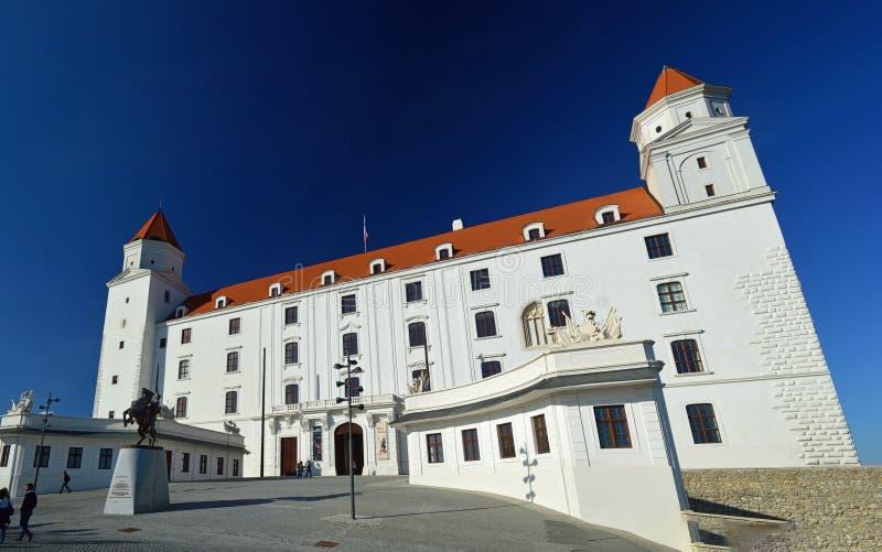 Castillo de Bratislava, Bratislava Eslovaquia imagen de archivo