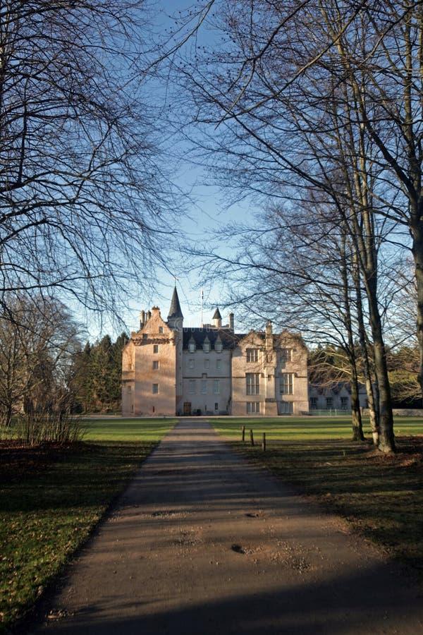 Castillo de Brodie imagen de archivo