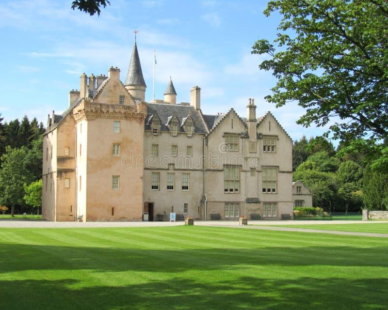 Castillo de Brodie, Escocia fotografía de archivo