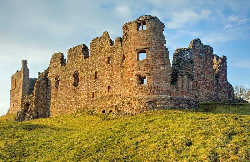 Castillo de Brough imagen de archivo