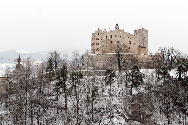 Castillo de Brunico imagen de archivo