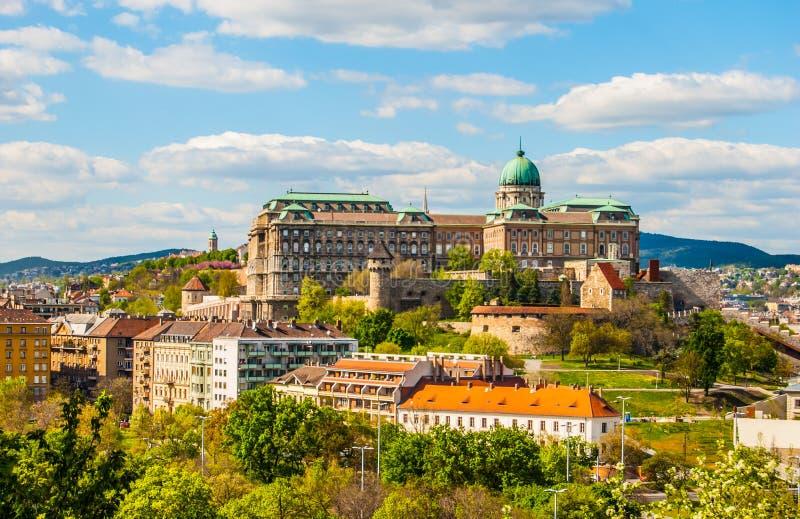 Castillo de Buda en Budapest imágenes de archivo libres de regalías