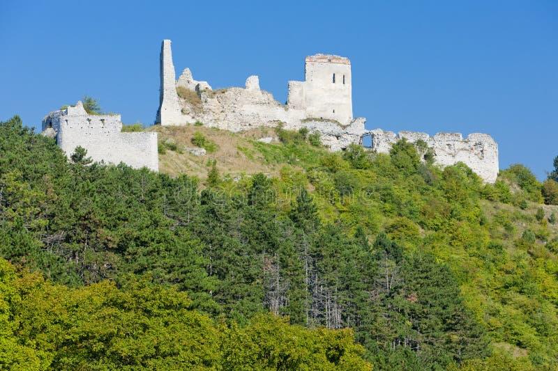 Castillo de Cachtice fotografía de archivo libre de regalías