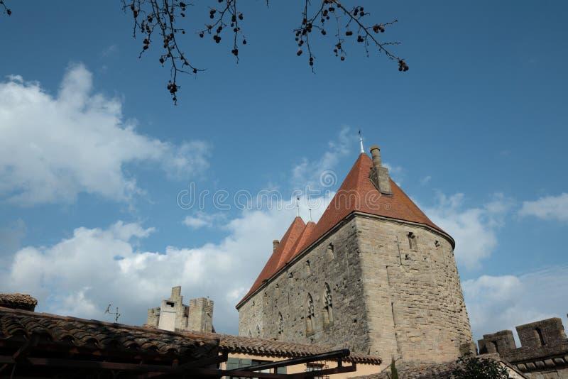 Download Castillo de Carcasona foto de archivo. Imagen de torre - 44856574