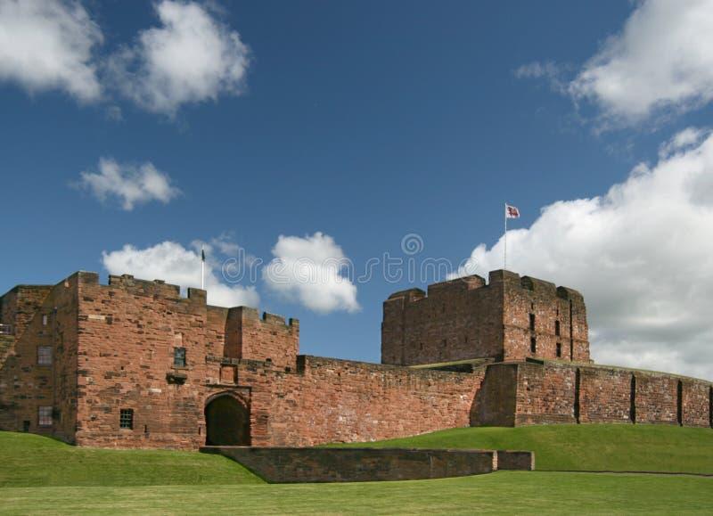 Castillo de Carlisle imagenes de archivo