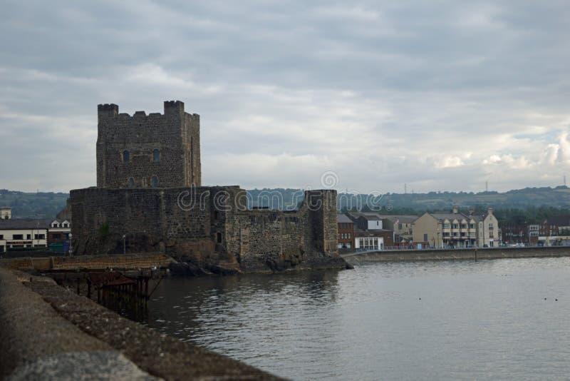 Castillo de Carrickfergus imagen de archivo libre de regalías