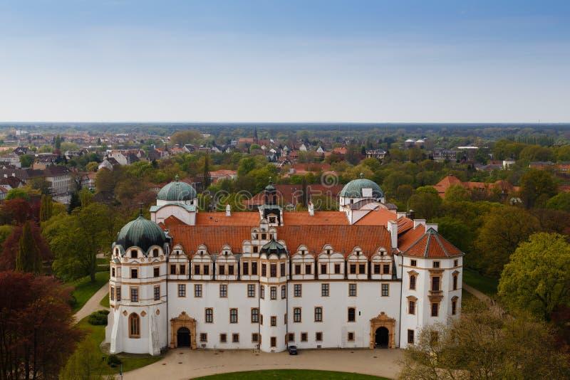 Castillo de Celle foto de archivo libre de regalías