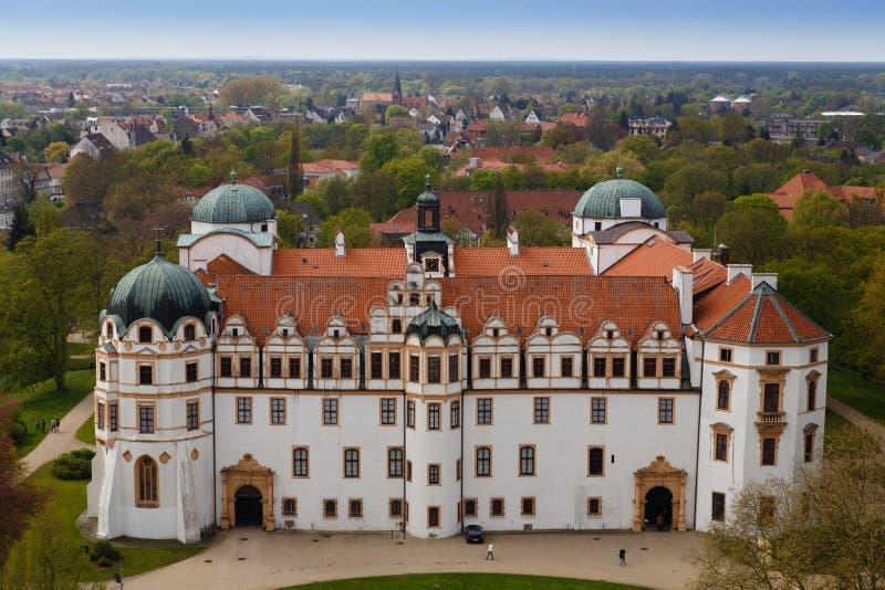 Castillo de Celle foto de archivo