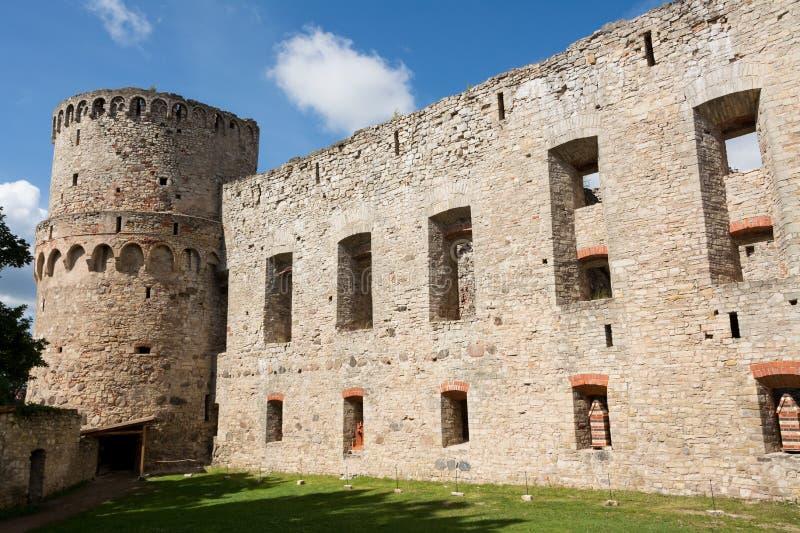 Castillo de Cesis foto de archivo