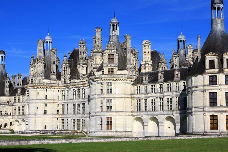 Castillo de Chambord imagen de archivo libre de regalías