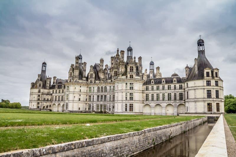 Castillo de Chambord imagen de archivo