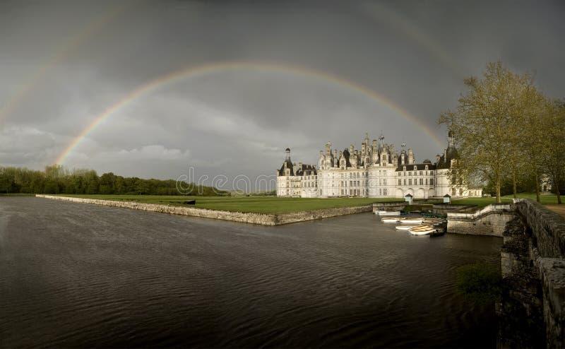 Castillo de Chambord foto de archivo