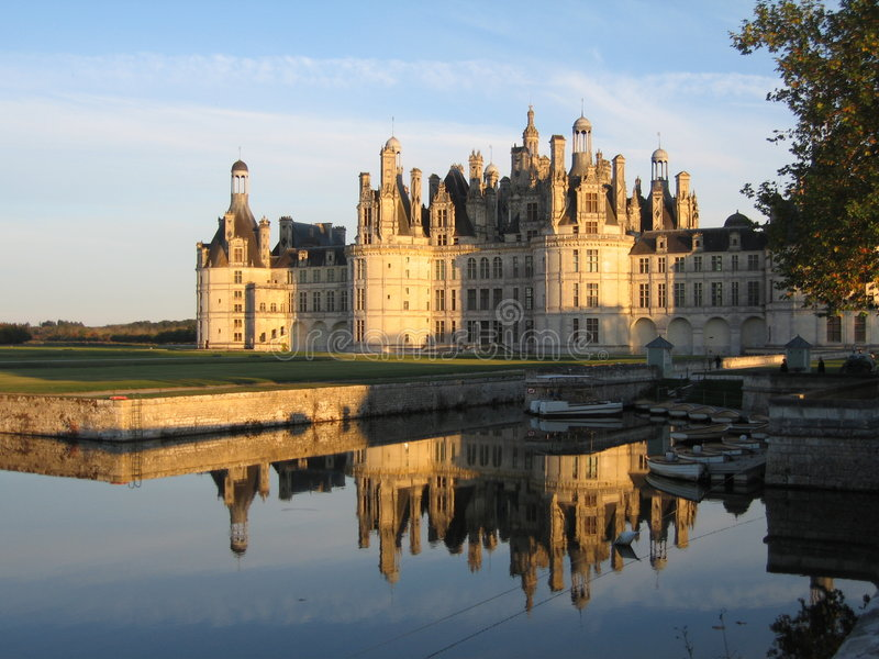 Castillo de Chambord - Francia imagen de archivo libre de regalías