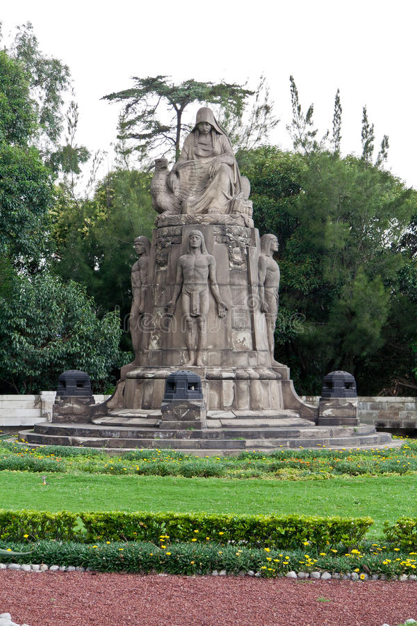 Download Castillo De Chapultepec Garden Stock Image - Image of garden, monument: 21872553