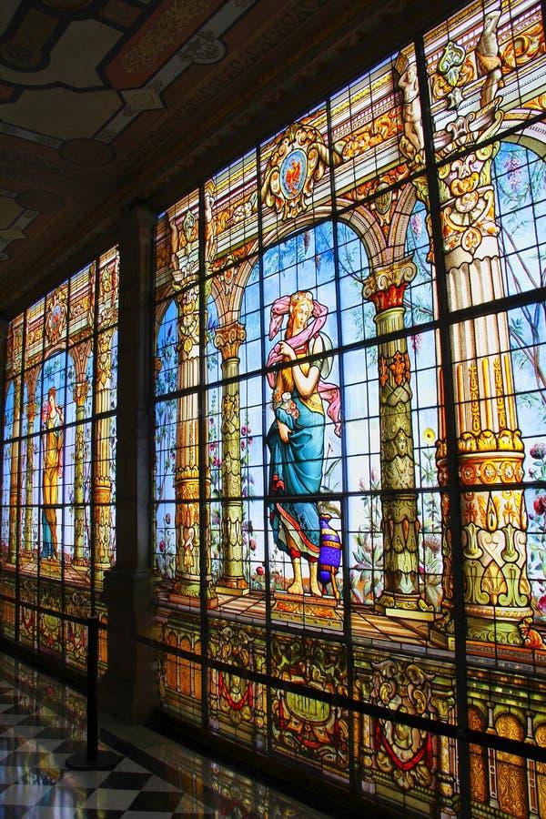 Castillo De Chapultepec IV zdjęcie stock