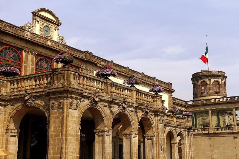 Castillo de chapultepec VII photos libres de droits
