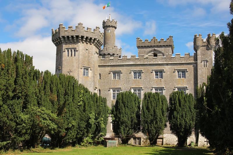 Castillo de Charleville. Tullamore. Irlanda imagen de archivo