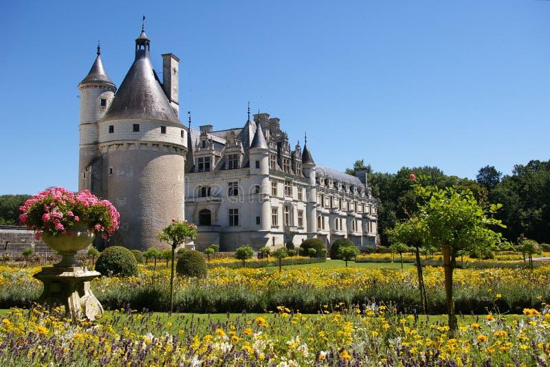 Castillo de Chenonceau foto de archivo libre de regalías