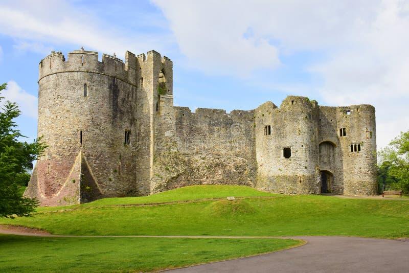 Castillo de Chepstow imagen de archivo libre de regalías
