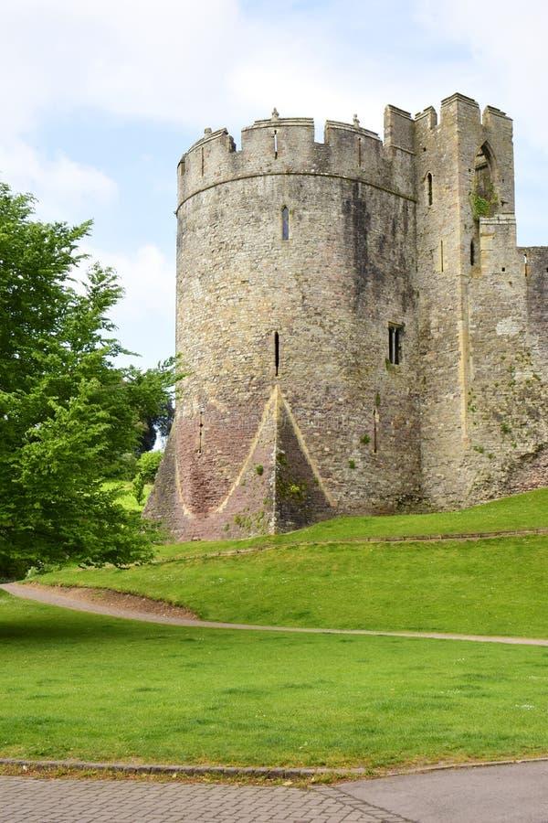 Castillo de Chepstow fotografía de archivo