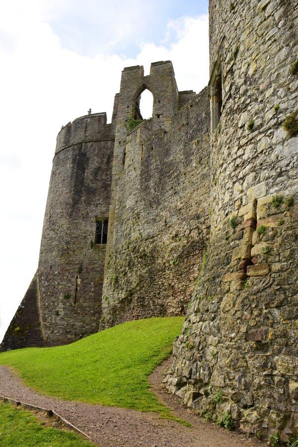 Castillo de Chepstow fotos de archivo libres de regalías