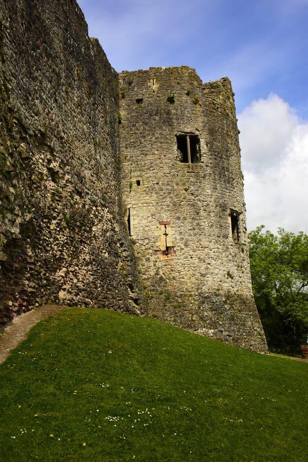 Castillo de Chepstow imagen de archivo