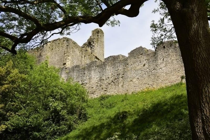 Castillo de Chepstow imagenes de archivo