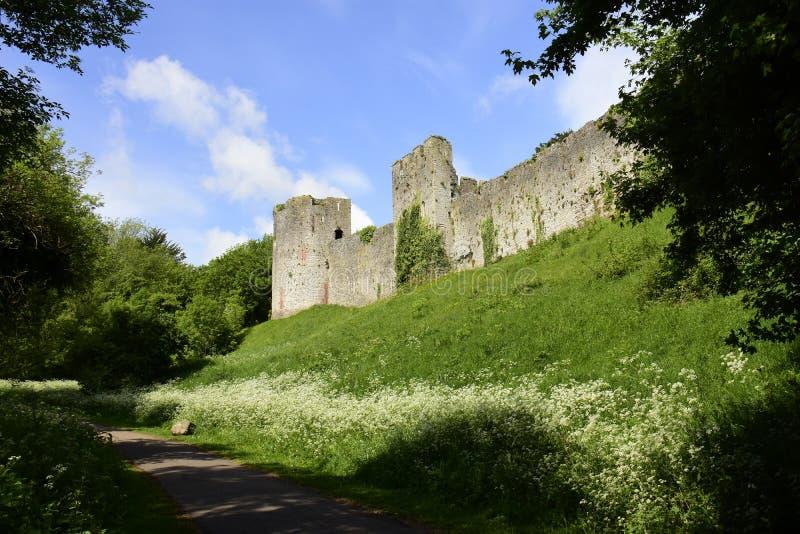 Castillo de Chepstow foto de archivo