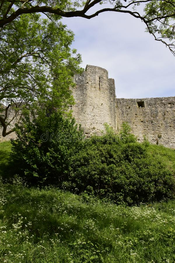 Castillo de Chepstow foto de archivo libre de regalías