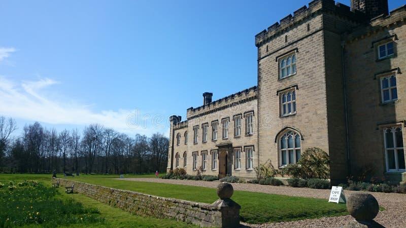 Castillo de Chiddingstone imagen de archivo