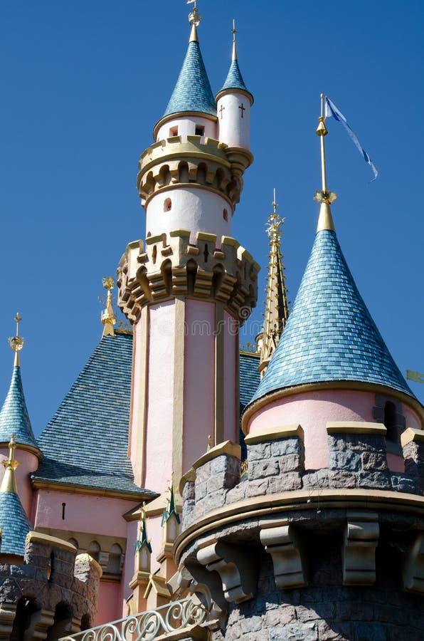 Castillo de Cinderella foto de archivo