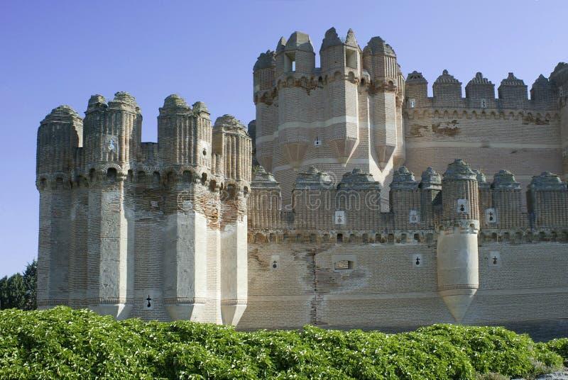 Castillo DE Coca Stock Afbeelding