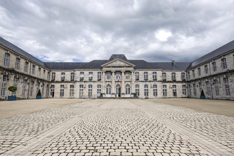Castillo de Commercy (Francia) fotografía de archivo libre de regalías