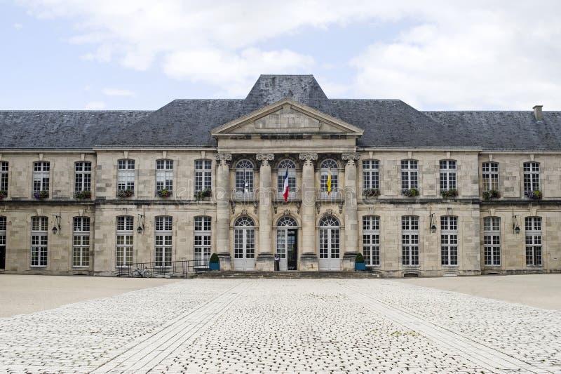 Castillo de Commercy (Francia) imagen de archivo libre de regalías