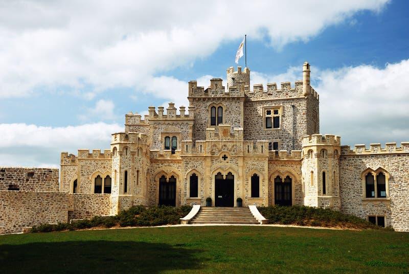 Castillo de Condette foto de archivo libre de regalías