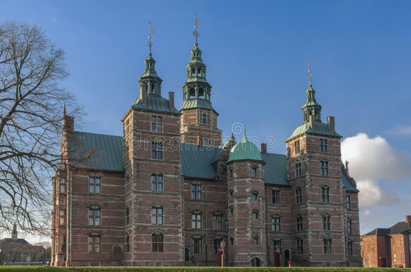 Castillo de Copenhague Rosenborg fotos de archivo