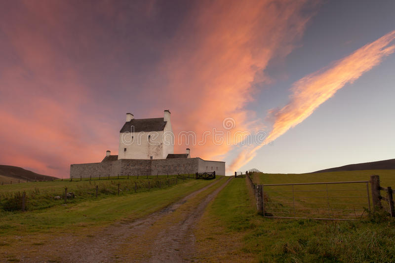 Castillo de Corgarff fotografía de archivo