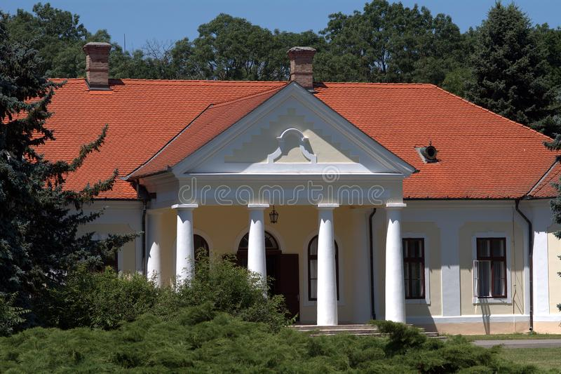 Castillo de Csaky, Szarvas, Hungría imágenes de archivo libres de regalías
