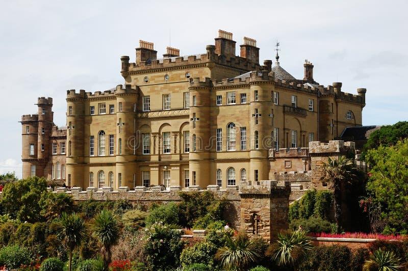 Castillo de Culzean en Escocia fotografía de archivo