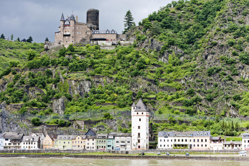 Castillo de Cutts imagen de archivo libre de regalías