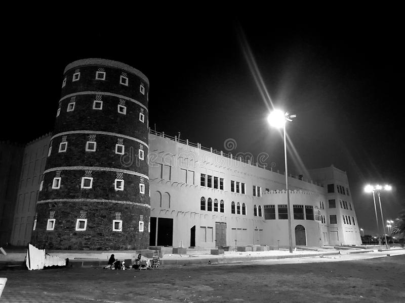 Castillo de Dammam fotos de archivo libres de regalías