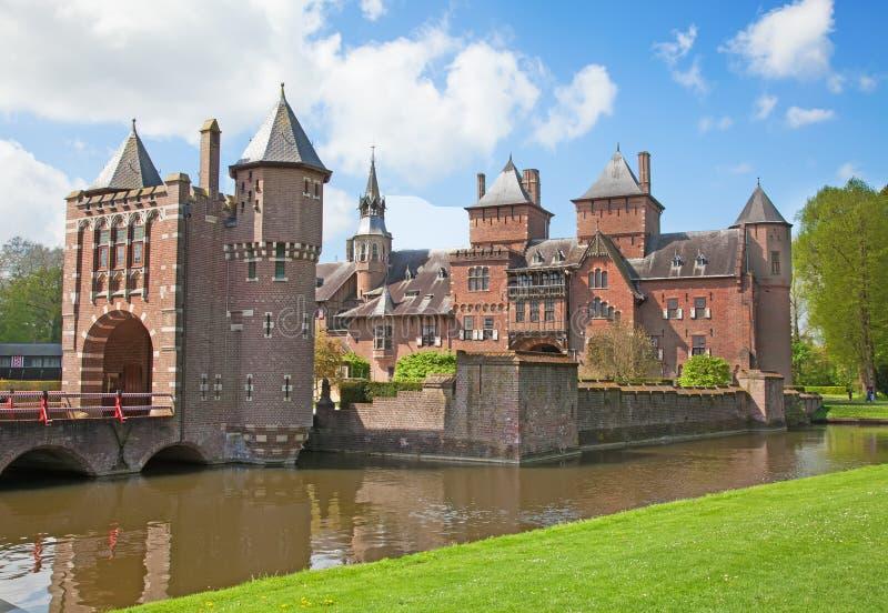 Castillo de De Haar foto de archivo libre de regalías