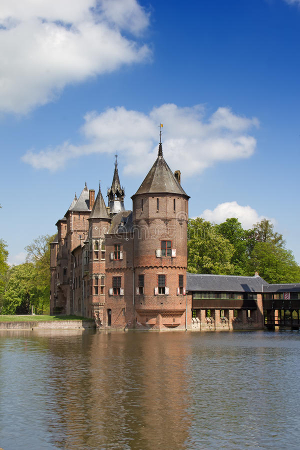 Castillo de De Haar fotos de archivo