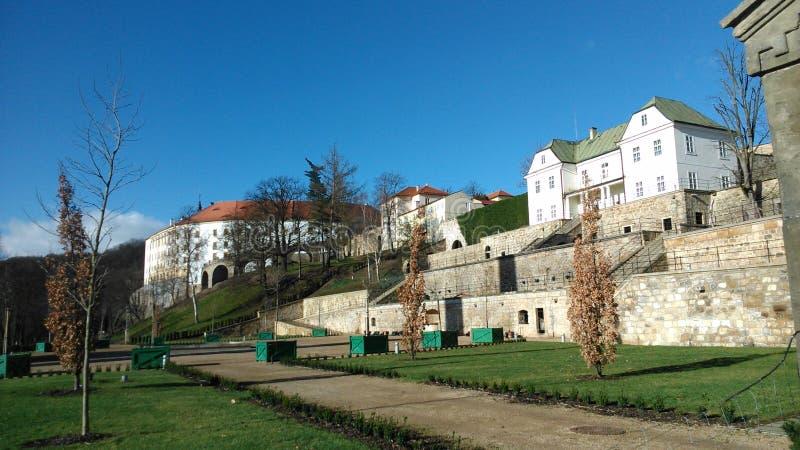 Castillo de Decin imagen de archivo libre de regalías