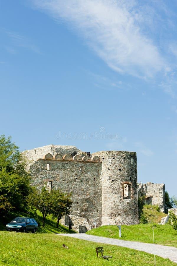 Castillo de Devin imagen de archivo